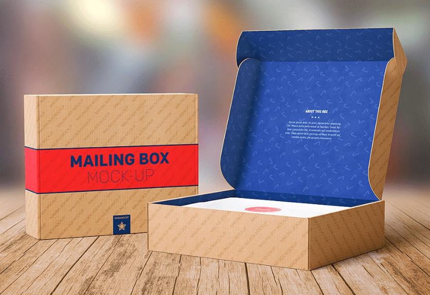 25 Mailing Box & Bag Packaging PSD Mockups Decolore Net