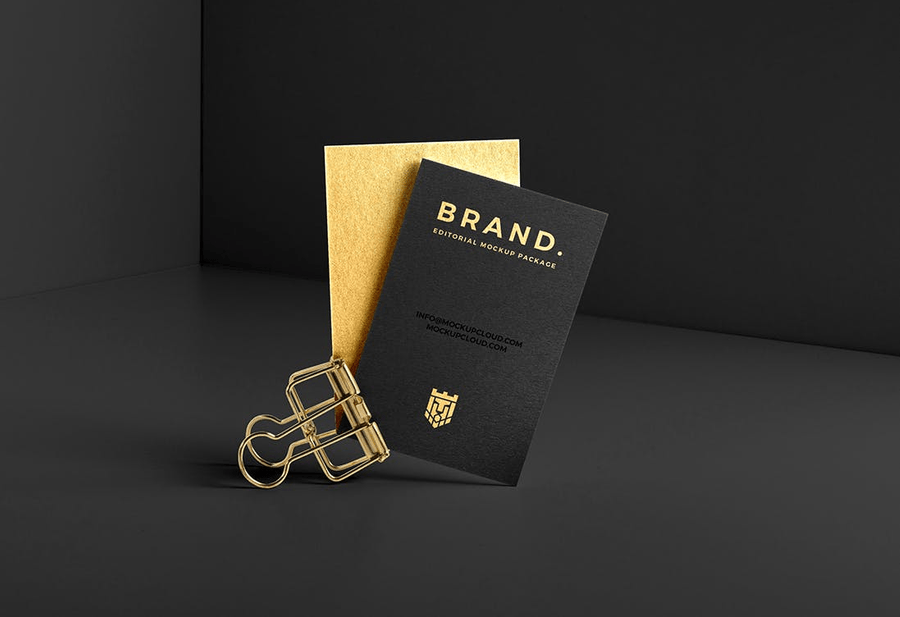 Download Gold Foil Logo Mockup Free Download Yellowimages