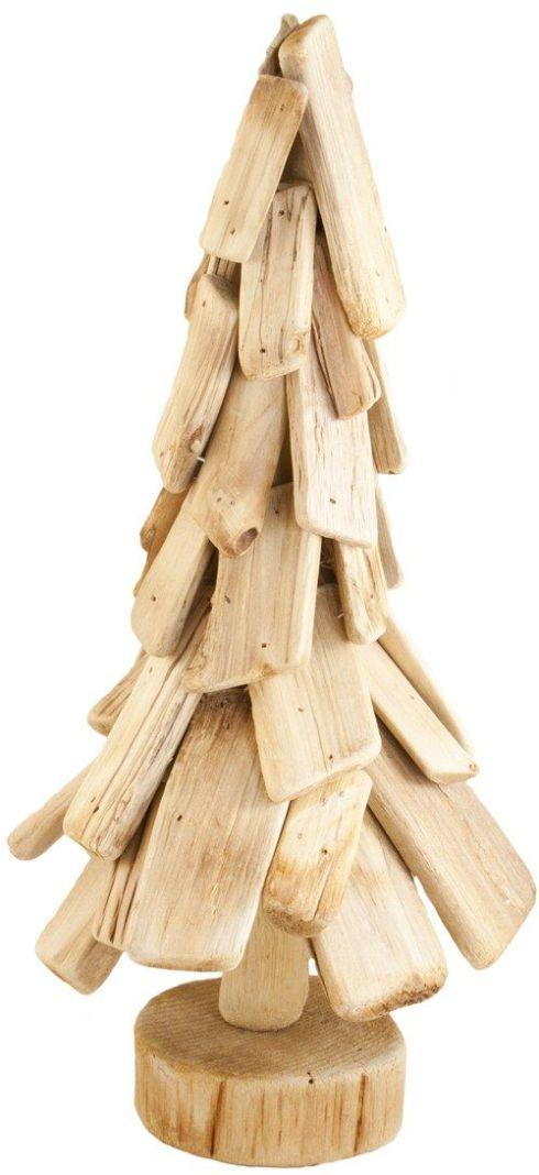 arboles de navidad rusticos reciclando restos 5
