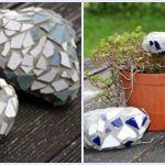 ideas para decorar con piedras 1