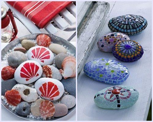 ideas para decorar con piedras 2