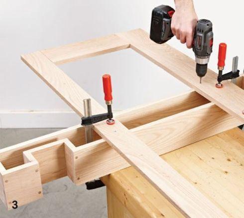 DIY mueble funcional para decorar la entrada de casa 3