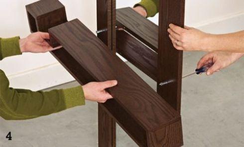 Diy de mueble funcional para decorar la entrada de casa - Muebles para la entrada de la casa ...