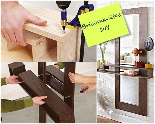 DIY mueble funcional para decorar la entrada de casa 5