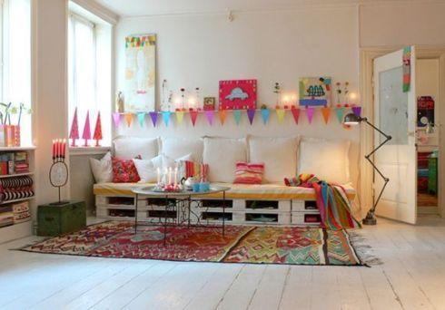 idea decoracion reciclar palés para sofás 2