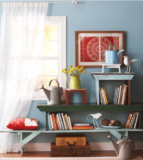 idea para decoracion vintage de la casa