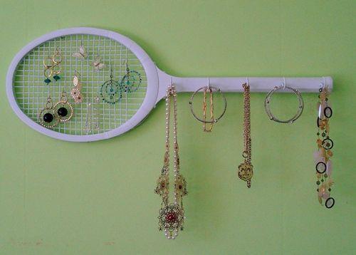 ideas para reciclar raqueta decorando