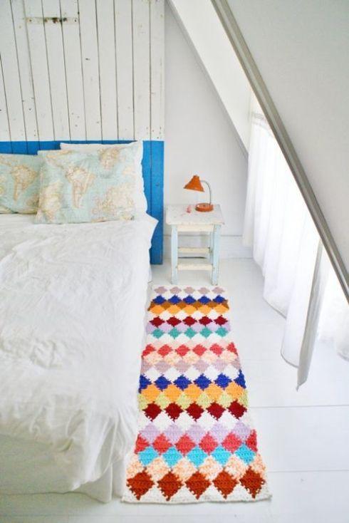 ideas en crochet para decorar la casa
