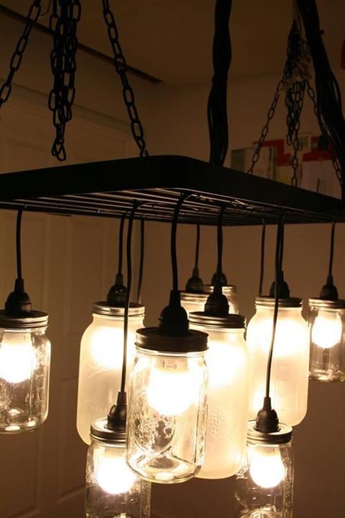 ideas de decoracion vintage con bombillas 2
