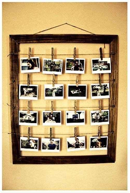 Marcos de fotos rústico chic para decorar 3