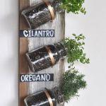Decorar reciclando: aromáticas en la cocina DIY