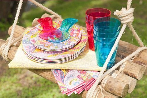 Idea de decoración para exteriores ¡el picnic es tendencia! 7
