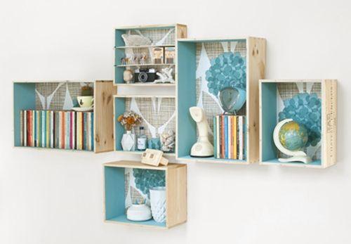 Tutorial c mo decorar con cajas de madera decomanitas - Decorar cajas de madera con papel ...