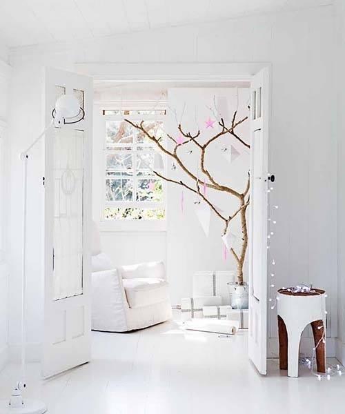 ideas para decorar con ramas secas 11