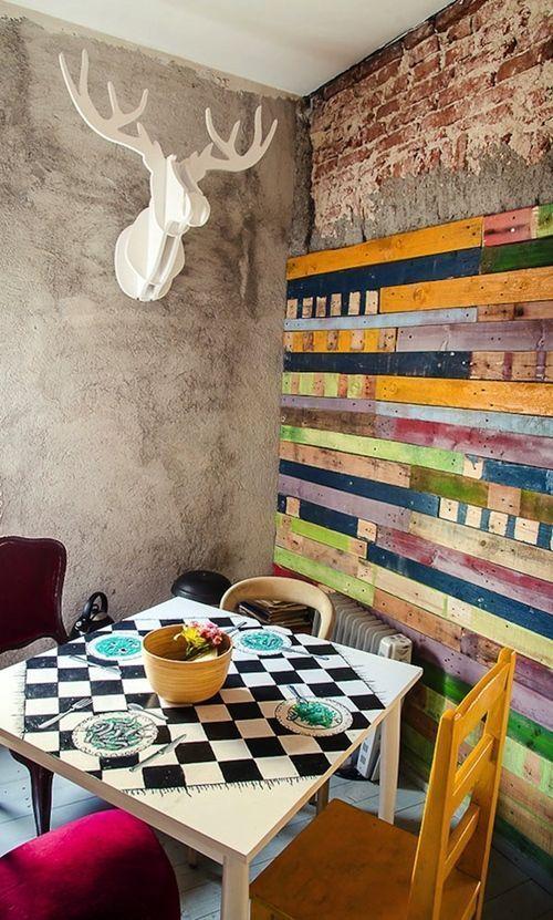 Mueble reciclado para una decoraci n joven y divertida for Decoracion joven