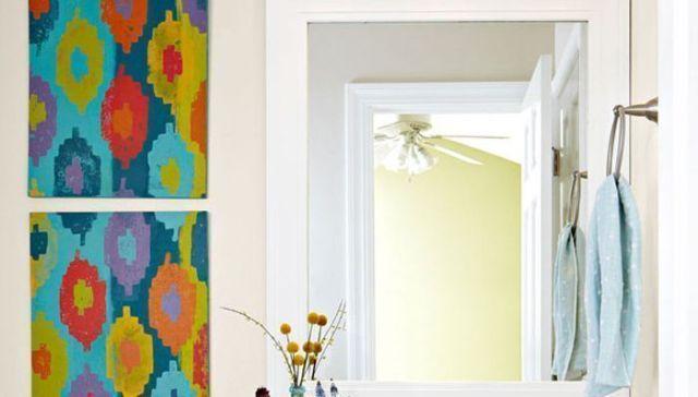 ☆ Decorar paredes a todo color con Ikats ☆