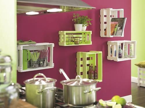 Ideas de decoracion con cajas de madera para fruta 1