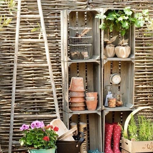 Ideas de decoracion con cajas de madera para fruta 6