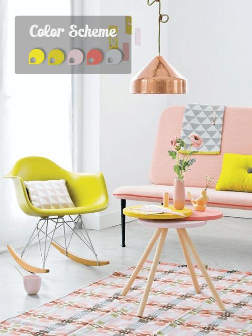 Nuevos colores en decoracion para interiores de casa 1