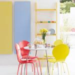 Nuevos colores en decoración para interiores de casa