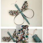 Reciclar y decorar: libélulas y mariposas vintage en tus paredes…
