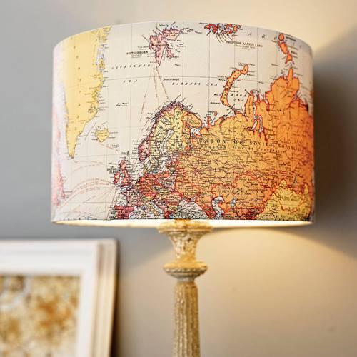 Inspiracion para decorar con mapas 3