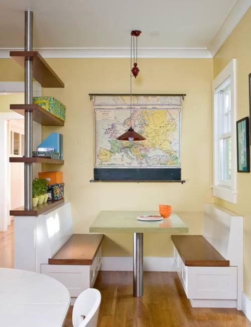 Inspiracion para decorar con mapas 6