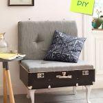 Maletas antiguas para decoración de interiores y reciclaje