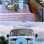 Vacaciones sugerentes ¡casa de verano con la vieja VW campervan! 4