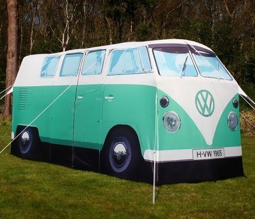 Vacaciones sugerentes ¡casa de verano con la vieja VW campervan! 6
