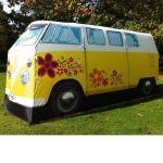 Vacaciones sugerentes ¡casa de verano con la vieja VW campervan! 7