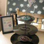 Ideas para decorar con viejos discos de vinilo 4