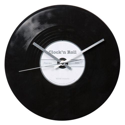Ideas para decorar con viejos discos de vinilo 5