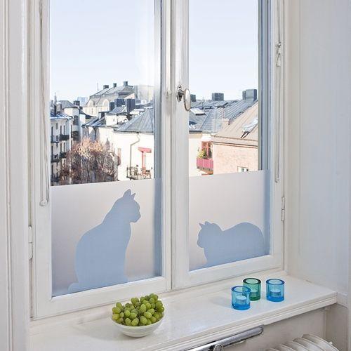 Vinilos adhesivos para decorar ventanas decomanitas - Vinilos para cristales de cocina ...