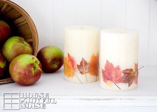 09_Fall-candles-real-leaves