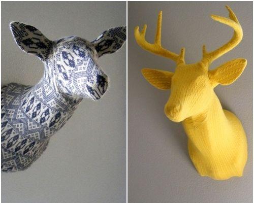 Ideas para decorar paredes con trofeos de caza 14