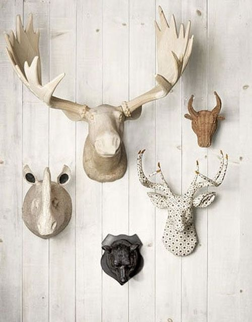 Ideas para decorar paredes con trofeos de caza 15