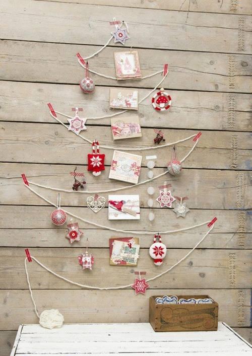 como hacer un arbol de navidad original y alternativo 7