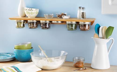 Especieros de cocina originales hechos a mano ideas para reciclar frascos 1