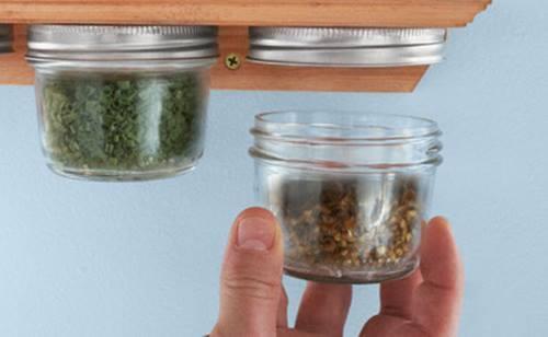 Especieros de cocina originales hechos a mano ideas para reciclar frascos 8