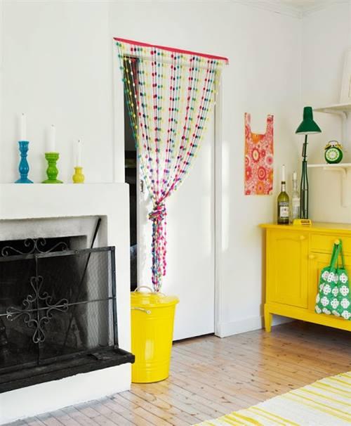 Ideas de decoración vintage con sutiles pinceladas de amarillo 3