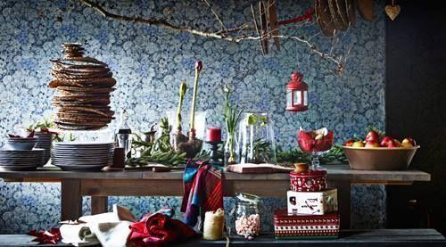 Nuevas decoraciones de Navidad del catálogo Ikea 1