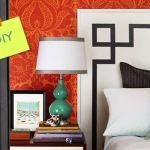 Cómo hacer un cabecero de cama original con pintura de pared