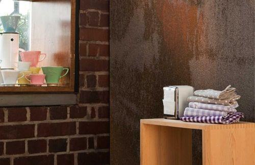 C mo pintar mi casa con pinturas decorativas i pintura efecto xido decomanitas - Como pintar casas ...