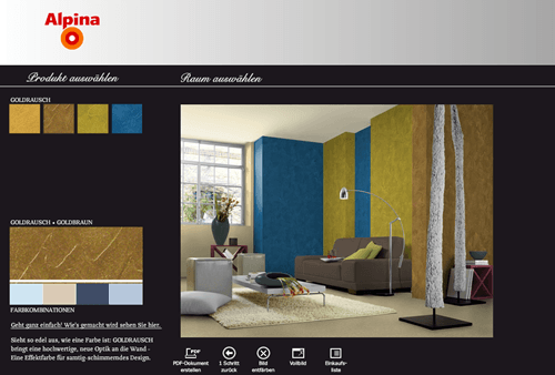 Decorador virtual para interiores de casas 2