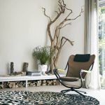Árboles secos para decorar interiores de casas