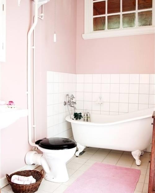 La decoraci n de interior en color rosa palo es tendencia for El color en la decoracion