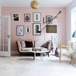 La decoración de interior en color rosa palo es ¡tendencia absoluta! 8