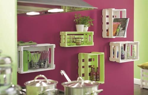 Nuevas ideas para pintar cajas de madera y reutilizarlas para