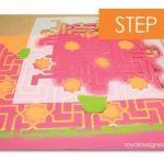 como decorar mi casa con stencil de motivos geometricos de estilo marroqui 9
